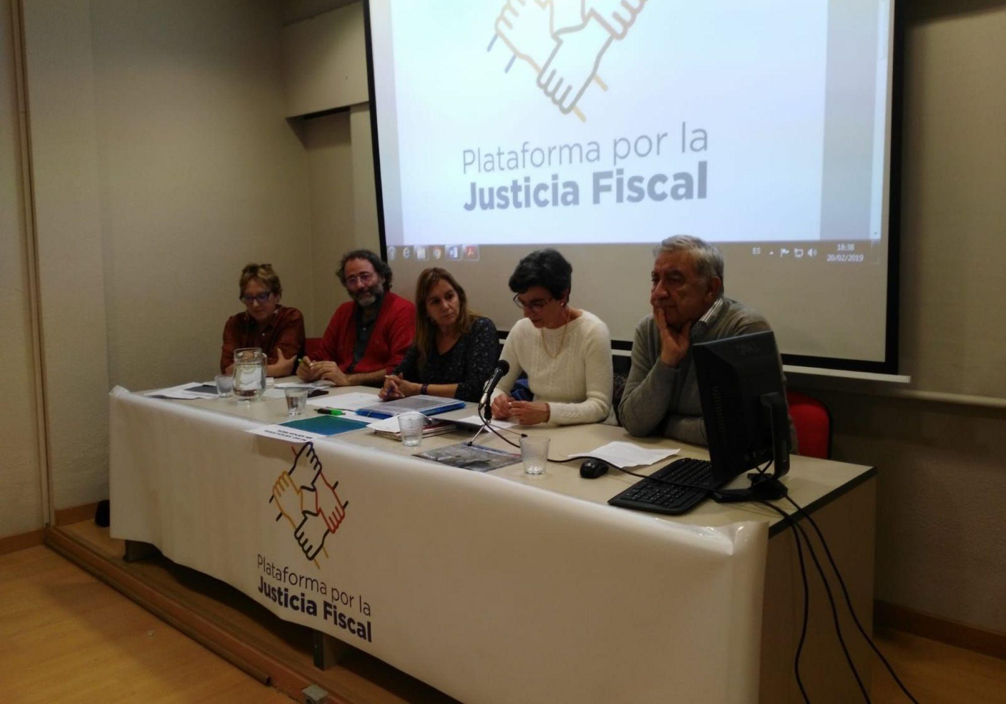 Propuestas de la Plataforma por la Justicia Fiscal ante las próximas elecciones locales