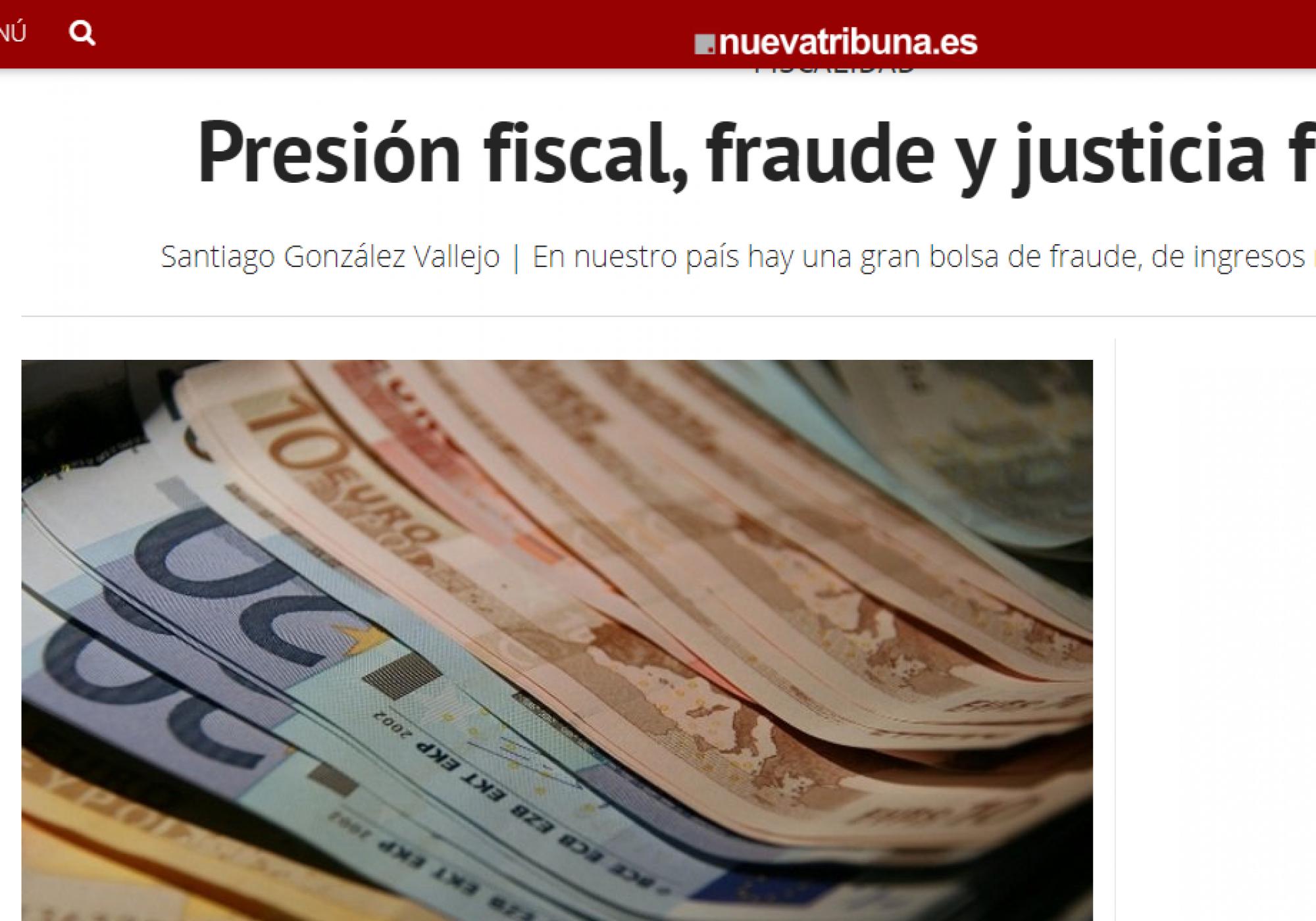 Presión fiscal, fraude y justicia fiscal