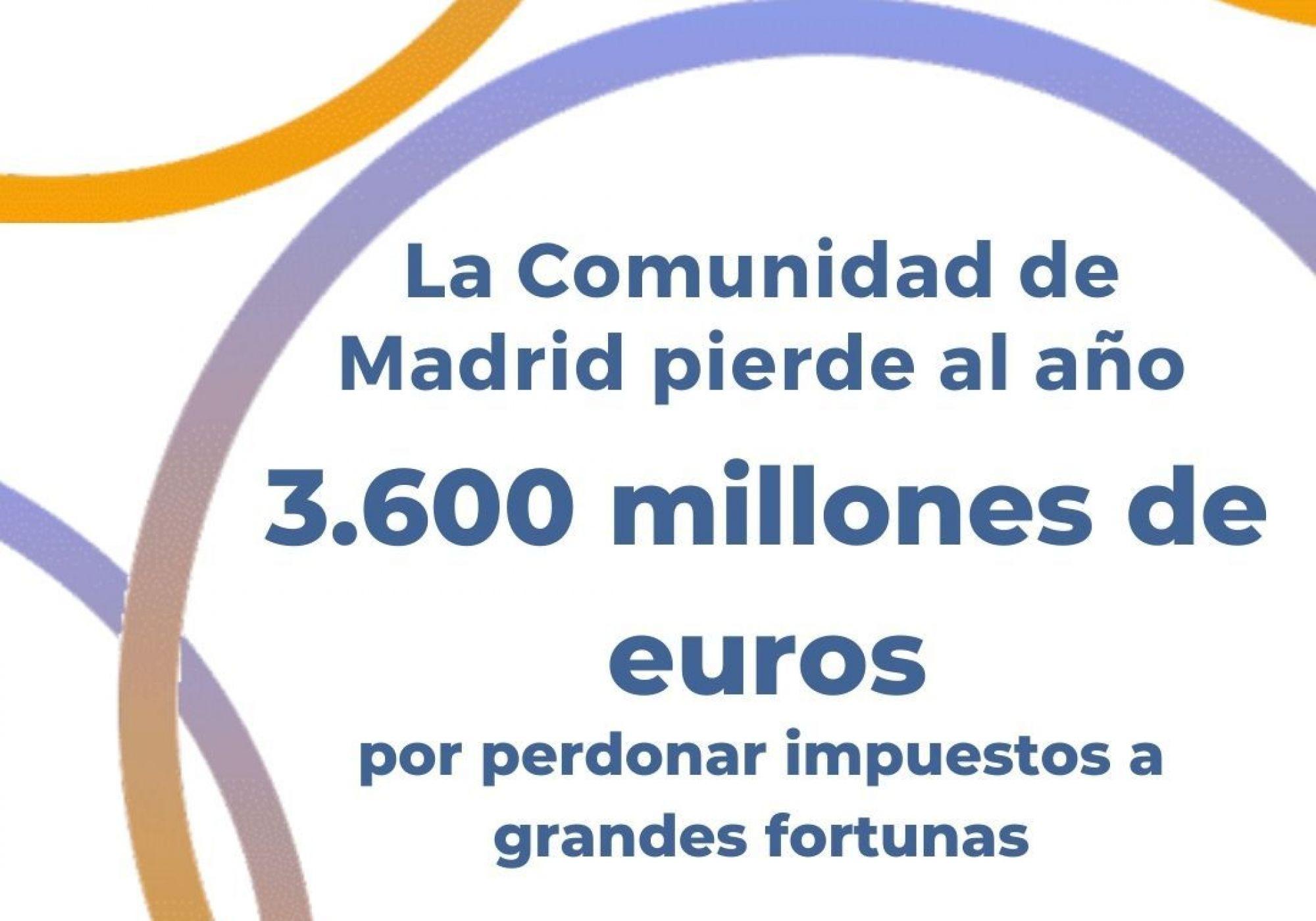 Bajar impuestos causa muertes: Madrid